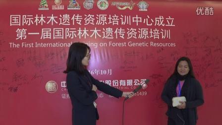 菲律宾生物多样性管理局专家pola参加中喜生态国际林木培训