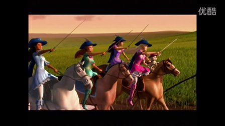 Barbie and The Three Musketeers Now On DVD  2009 TV Commercial