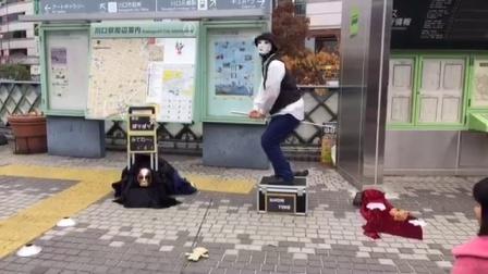 [直播回放]日本街头 机械舞 绝对一流水准