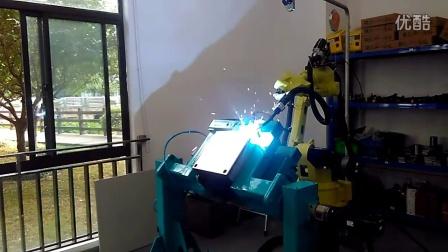 焊神焊机图灵机器人焊接不锈钢食品容器