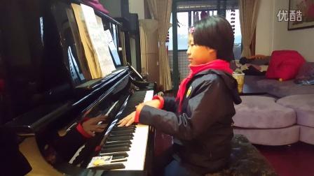 《上海音乐家协会钢琴考级七级无词歌》20161130_164336