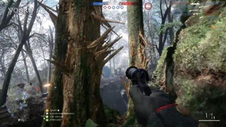 Battlefield 1 12.02.2016 - G98 抱树3连闪