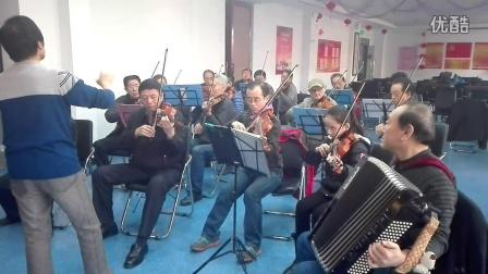 司佳玉,欢乐小提琴莫扎特525 二重奏平时排练视频