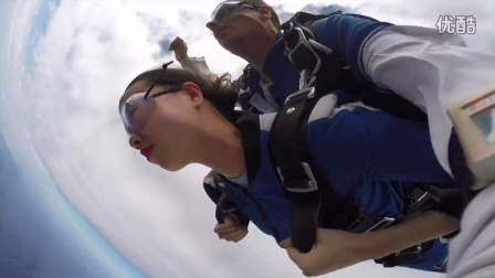 CallaLily's First SkyDive in Sydney