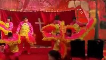 不数年轮微视 基督教歌舞视频《这条路上我们一起走》