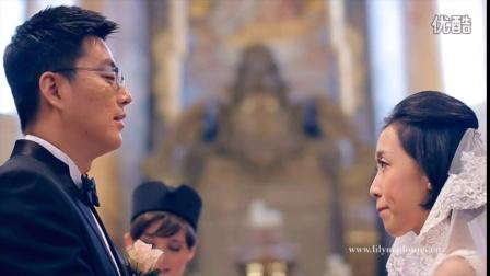 欧洲旅拍捷克布拉格婚纱摄影海外蜜月旅行跟拍写真婚纱照国外婚礼
