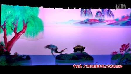 """""""中国美·夕阳红""""团聚港澳国际文化艺术交流演出:皮影戏《骄傲的白鹤》"""