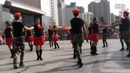 姜堰区广场舞水兵舞