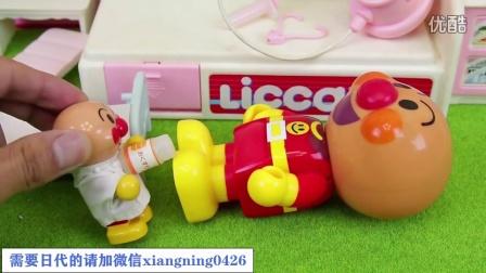 【日本代购】小猪佩奇 面包超人 骑自行车摔伤了