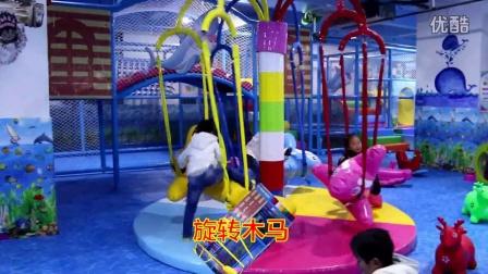 独山县中央城开心哈乐儿童乐园视频