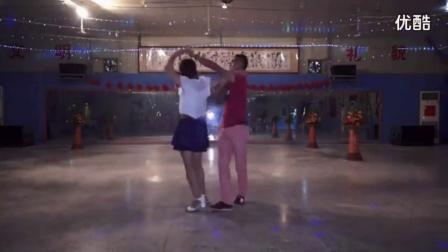 拉丁舞教学慢三步舞基本步教学