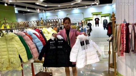 品牌童装折扣货源,《谷纯》羽绒棉服,保暖性高,东北客户可以考虑哦,性价比高