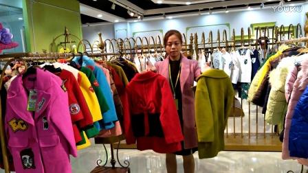 品牌童装折扣货源库存批发,《多品牌组合呢子大衣》,不起球,保暖性高,性价比高,童装性价比最高之一