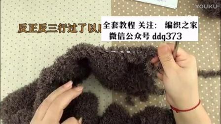 粗棒针毛衣撘什么外套b学习编织课程(3)b棒针帽子的织法视频教程