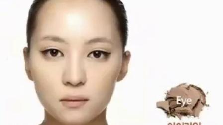 滨崎步超级电力猫眼妆
