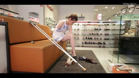 国外截肢残疾美女儿麻慕残amputee生活视频