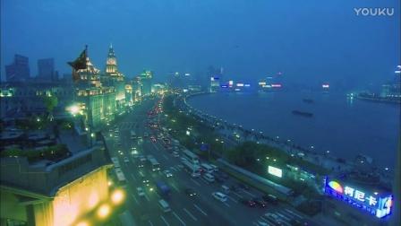 0134-上海灯光街景视频