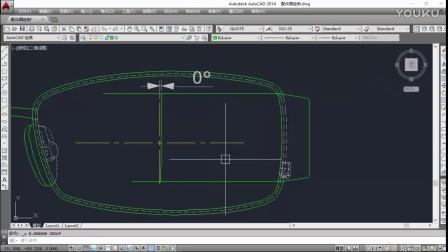 平面CAD眼镜绘图视频教程