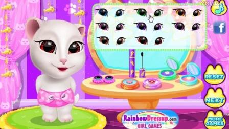 安吉拉大变样 安吉拉装扮 亲子游戏 儿童益智游戏 大侠笑解 汤姆猫 说话猫