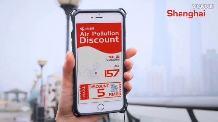 Air pollution discount