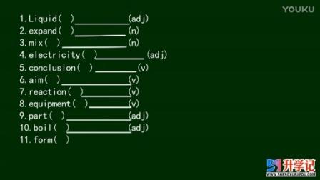升学记教育高一上学期下英语1. 第五单元单词