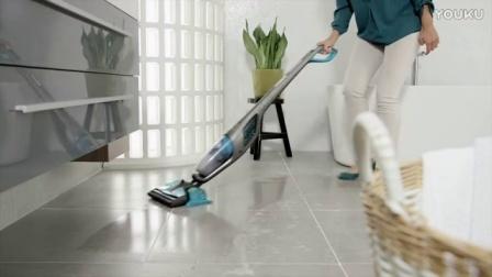 飞利浦 PowerPro Aqua 3合1 吸尘器清理湿污垢