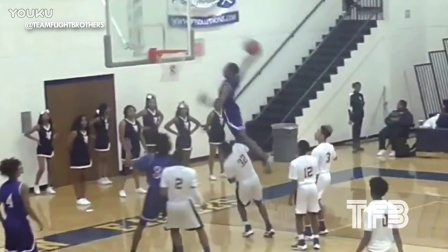 INSANE DUNK! High School Kid JUMPS OVER 6'7 Defender in GAME!