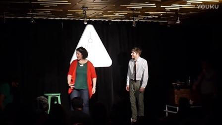 Musical improv team Snap Christmas part 2