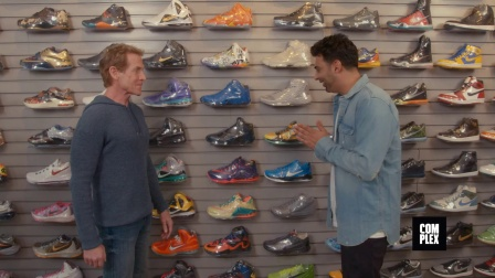 Sneaker Shopping with Skip Bayless - Complex