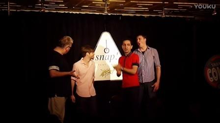 Musical improv team Snap