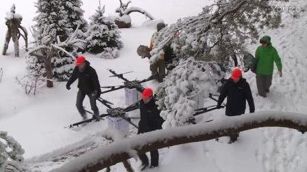 新的滑雪方式呼之欲出 挖掘机跟它相比简直弱爆了!