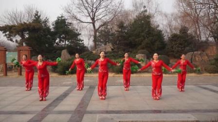 美娇广场舞队-《福门开 好运来》