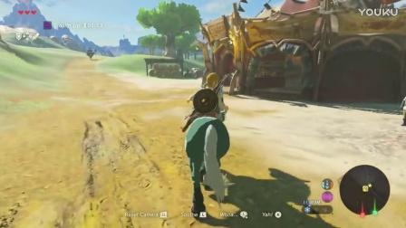 【小纳游戏】《塞尔达传说:荒野之息》演示 驯马