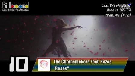 Billboard TOP 15 Dance_Electronic Streaming Songs (2016年10月29日)