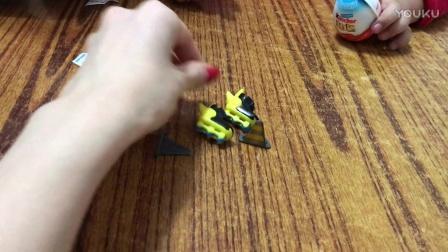 元宝健达奇趣蛋拆玩具忍者神龟系列20170125