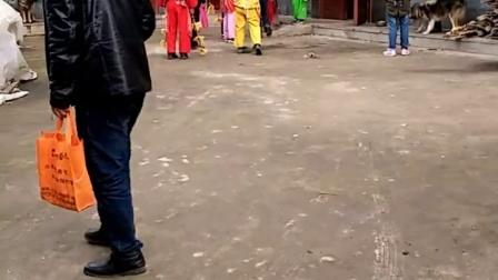 2017年洋县云阳村三组扫五穷视频