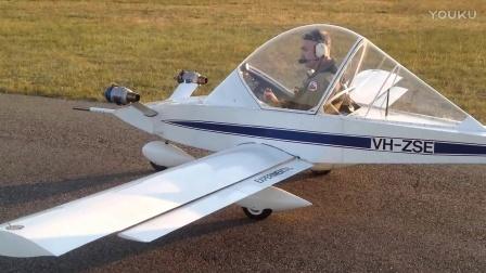 梦飞翔航拍  喷气式蟋蟀 超轻飞机