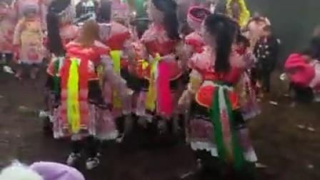 2017年威信县高田乡长岭埂苗族花山节 七月火把节