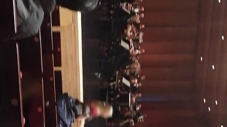 英国皇家爱乐乐团在哈尔滨大剧院演出前的准备视频