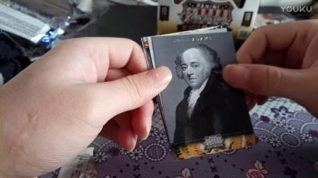 12年美国名人盒子拆卡视频