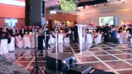 王馨仪和张睿宏在卑詩省兒童醫院籌款晚宴上演出
