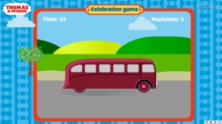 托马斯和他的朋友们  托马斯成长记 托马斯和他的朋友们玩游戏 动画视频表演4