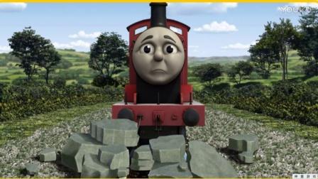 托马斯和他的朋友们  托马斯成长记 托马斯运货 动画视频表演1