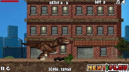 觉醒的霸王龙 恐龙世界 恐龙总动员  恐龙王国  恐龙视频动画视频10