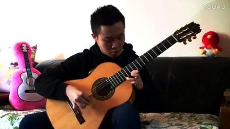 小蒋吉他 2017老柏木弗拉门戈 阿拉伯舞曲