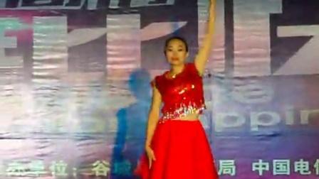 谷城舞梦快乐健身队庙滩总队参加2016hubei IPTV广场舞赛舞蹈《美美哒》