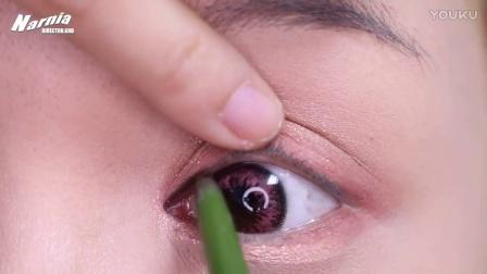 [Pink lens MAKEUP]  [NARNIA EYE MAKEUP]