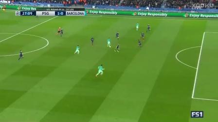 【欧冠经典】1617欧冠八分之一决赛1  巴黎圣日耳曼4-0巴塞罗那【720P】