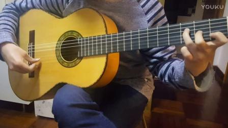小蒋吉他 白松西班牙柏木弗拉门戈吉他 2017