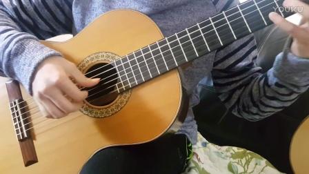 小蒋吉他 红松马达加斯加玫瑰木古典吉他